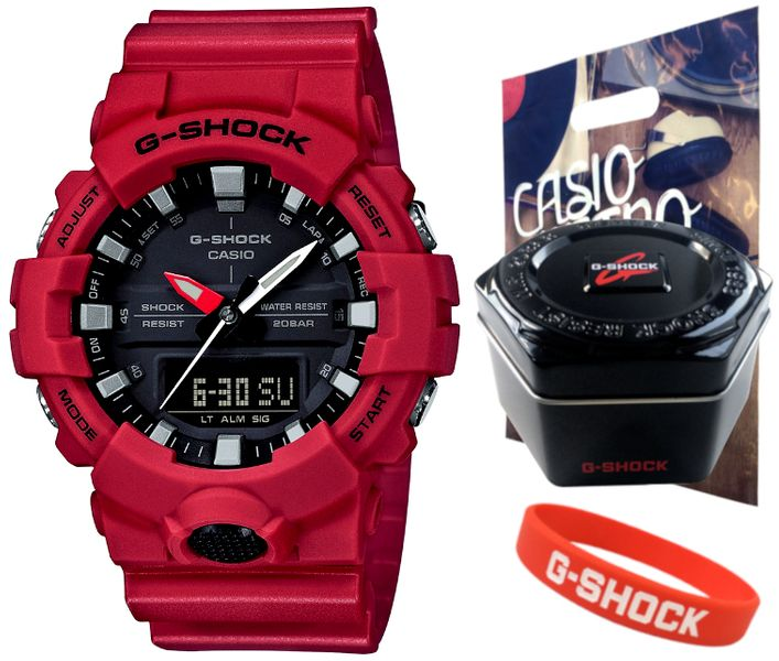 Zegarek Casio G-SHOCK GA-800-4AER zdjęcie 1