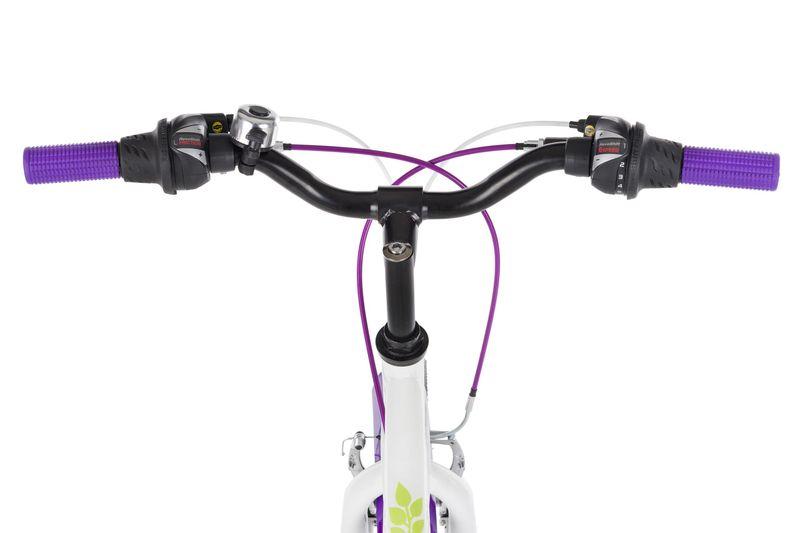 Rower 24 KANDS LAGUNA VS-2 stożek biało-fioletowy zdjęcie 4