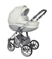 Wózek dziecięcy Faster 3 Style Limited Edition Baby Merc wielofunkcyjny siwy 3w1