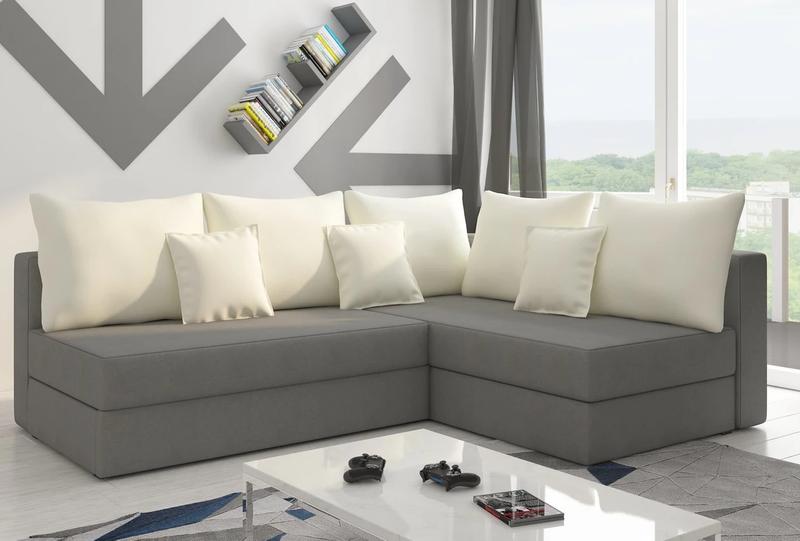 Narożnik PACO L ST funkcja spania nowoczesny sofa na Arena.pl