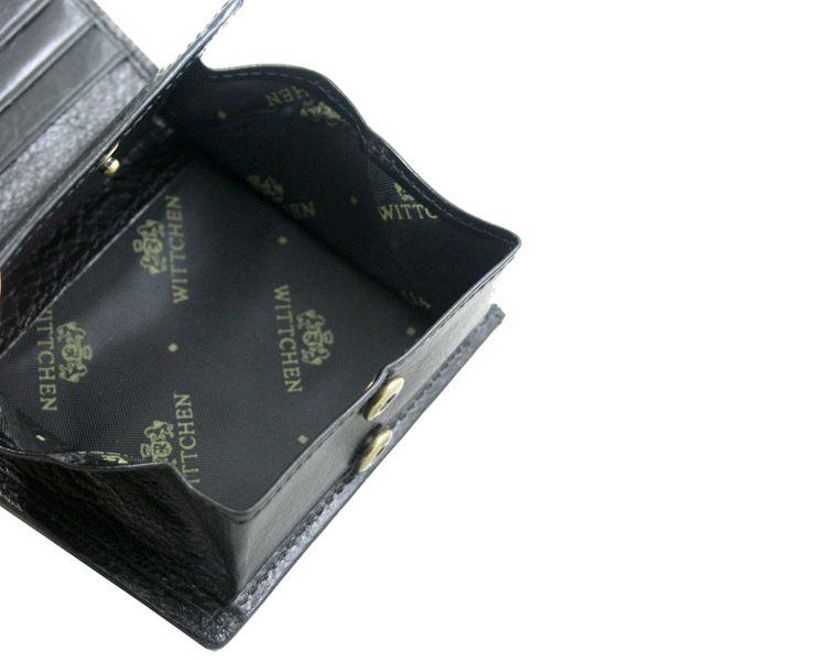 87186c11be0f9 Mały, jasno brązowy portfel Wittchen, kolekcja: Italy • Arena.pl