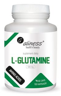 L-Glutamine 500 mg x 100 Vege caps Aliness