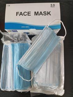 Maseczka maseczki maska ochronna 3w chirurgiczna jednorazowa 10 szt