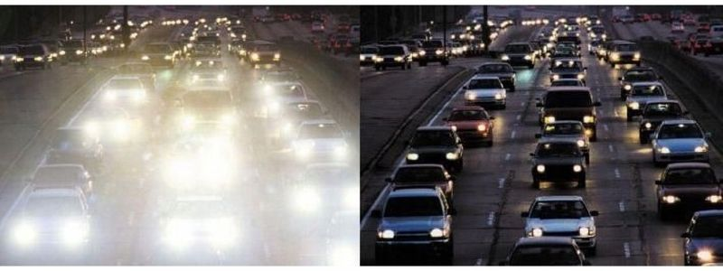 Okulary rozjaśniające dla kierowców półramki zdjęcie 5