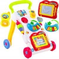 Laufwagen 3 in 1 mit Zaubertafel Piano und Baby Handy