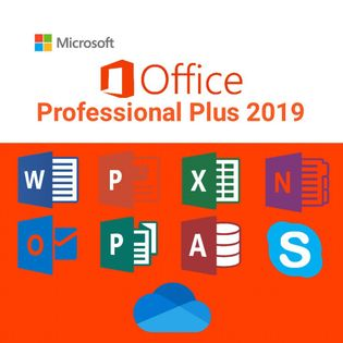 Microsoft Office Professional Plus 2019 Klucz