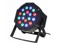 Światło disco 18 led dyskotekowe reflektor