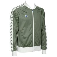 ARENA BLUZA ROZPINANA MAN RELAX IV TEAM JACKET ICONS ARMY-WHITE L