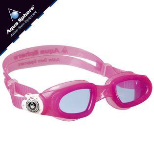 Okulary pływackie MOBY KID Kolor - Aqua Sphere - Moby Kid - EP127118 - różowy / biały / niebieskie szkła