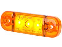 Lampa LED obrysowa boczna pomarańczowa 3 SMD 12v 24v Polska
