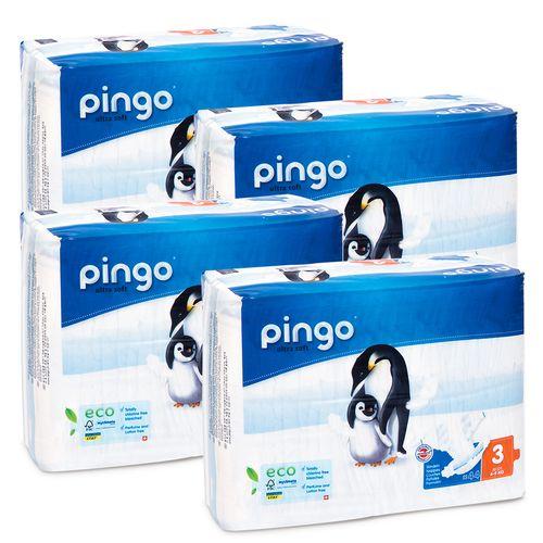 Pieluszki Pingo Ultra Soft 3 MIDI 4-9kg 176szt. (4x44) na Arena.pl