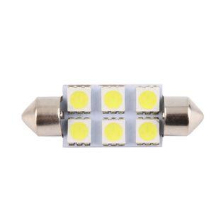 Żarówka LED C5W/C10W 6SMD 5050 CANBUS 39mm