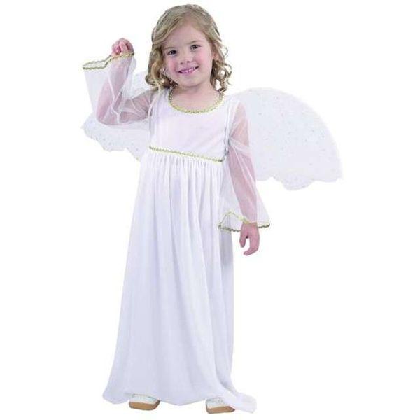 Strój kostium ANIOŁEK sukienka skrzydła roz.92/104 zdjęcie 1