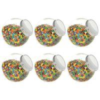 Słoiki na słodycze, 6 szt., 10,5 x 12 x 17 cm, 2200 ml