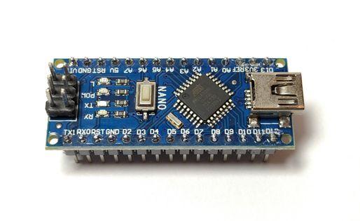 Arduino nano 3.0 ATMEGA328P CH340 zlutowany