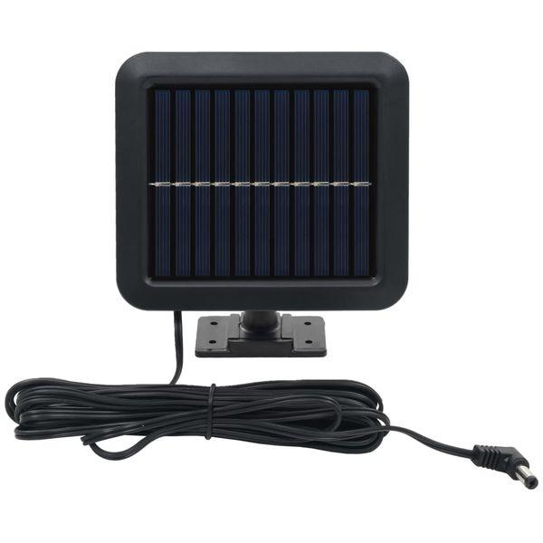 Lampa solarna z czujnikiem ruchu, białe LED zdjęcie 3