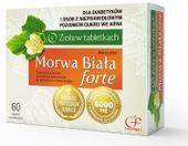 Morwa Biała Forte 60 tabletek - Długi termin ważności!