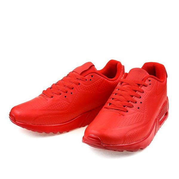 Czerwone męskie obuwie sportowe r.45 zdjęcie 3
