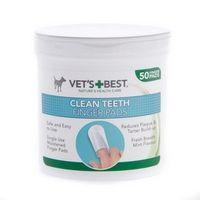 Vet's Best Czyściki Do Zębów Napalcowe 50Szt