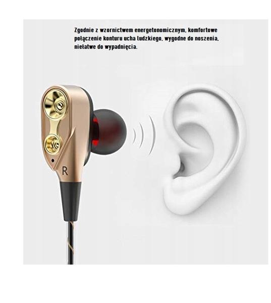 Słuchawki douszne z mikrofonem do telefonu iPhone Apple 4 5 SE 6 7 8 zdjęcie 5