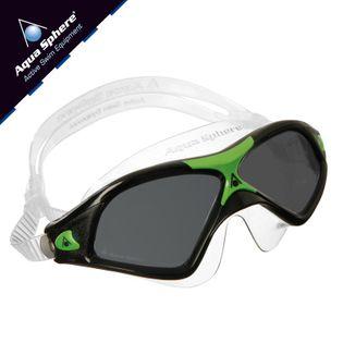 Gogle pływackie SEAL XP 2 Kolor - Aqua Sphere - Seal XP 2 - MS163116 - czarny / zielony / ciemne szkła