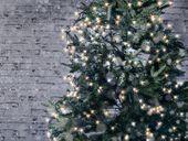 Lampki choinkowe białe LED 4 m Lunartec zdjęcie 5