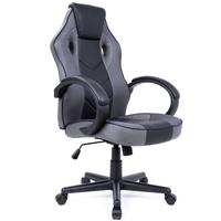 Fotel biurowy ergonomiczny obrotowy eko skóra Gamingowy dla gracza