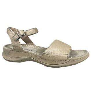 Sandały Ryłko 1IFP7 platyna Rozmiar obuwia - 36, Kolor - Złoty