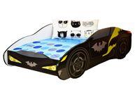 Łóżko dziecięce samochód BATMAN z materacem