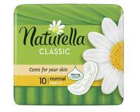 Podpaski Naturella Classic Normal Plus Ze Skrzydełkami 10szt