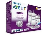 Avent butelka x4 zestaw startowy natural SCD290 HIT+szczotka+smoczek