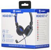 snakebyte zestaw słuchawkowy PS4 HEAD:SET 4