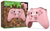 Nowy Oryg. kontroler Pad Xbox One S Minecraft PIG