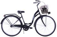 (K14) Rower miejski Kozbike 28 czarny standard