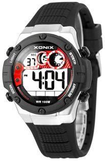Xonix Uniwersalny zegarek elektroniczny, wielofunkcyjny, alarm, timer, WR 100M, antyalergiczny