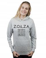 Bluza damska kangur ZOŁZA CECHY M