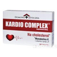 Domowa Apteczka Kardio Complex Na Cholesterol 30 tabletek - Długi termin ważności!