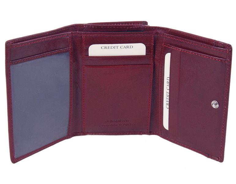 Wisniowy portfel damski - Paesini-1223 zdjęcie 3
