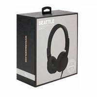 Słuchawki nauszne Urbanista Seattle CORDED czarny/black 26249