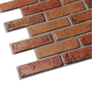 Panele Ścienne 3D PCV Cegła NATURALNA Brick NATURAL