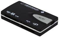 Esperanza Uniwersalny czytnik Kart Pamięci USB 2.0 EA129
