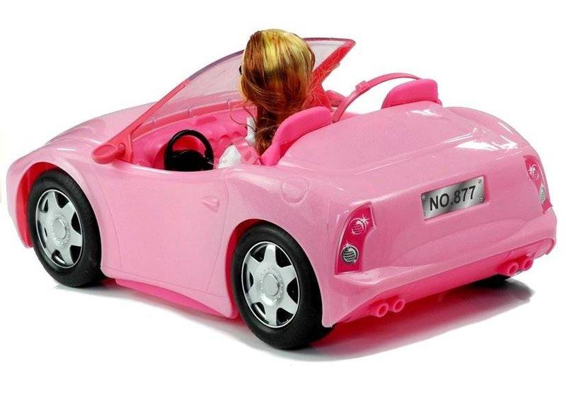 Lalka w Podróży Kabrioletem Auto dla Lalki na Arena.pl
