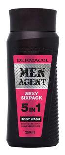 Dermacol Men Agent Sexy Sixpack 5in1 Żel pod prysznic 250ml