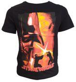 T-Shirt Star Wars Black 6Y r116 Licencja Disney LucasFilm (QE1024)