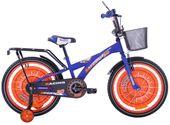 Rower dziecięcy 20 Racing Sport niebiesko-pomarańczowy