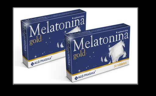 MELATONINA GOLD spokojny zdrowy sen 60 tabl.