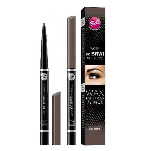 Bell Wax Eyebrow Pencil Wosk Do Brwi W Kredce 03 Brunetka 12Ml na Arena.pl