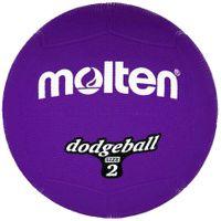 Piłka gumowa Molten DB2-V dodgeball size 2