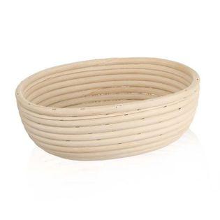 Koszyk do wyrastania chleba rattanowy 24x18,5x9 cm
