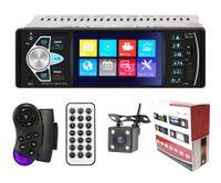 "Radio Samochodowe 1 DIN, ekran 4,1"" kamera cofania Bluetooth USB SD"